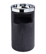 View: 2586 Smoking Urn, Ash/Trash with Metal Ashtray Top and Metal Liner